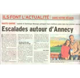 Topo escalade et highline autour d'Annecy par Isabelle et Dominique MESNAGES