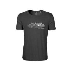 T-Shirt CHARTREUSE pour homme MASHERBRUM