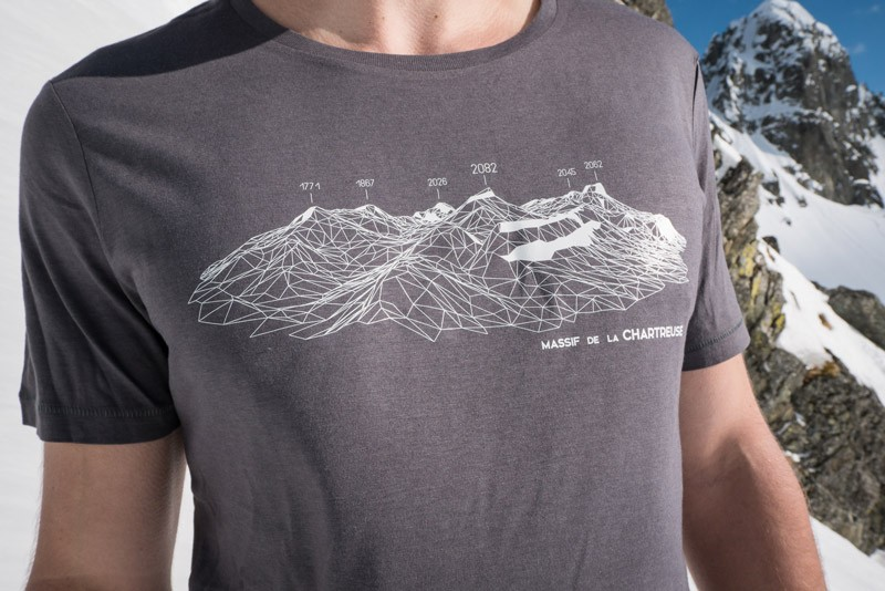 T-Shirt CHARTREUSE homme MASHERBRUM