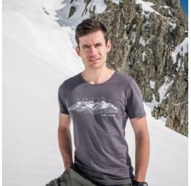 T-Shirt MASSIF DU MONT-BLANC pour homme MASHERBRUM