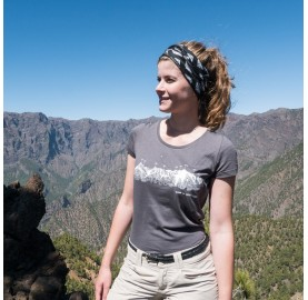 T-Shirt MASSIF DU MONT-BLANC pour Femme MASHERBRUM