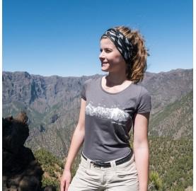MASSIF DU MONT-BLANC  T-Shirt Femme MASHERBRUM tee-shirt femme coton bio et modal