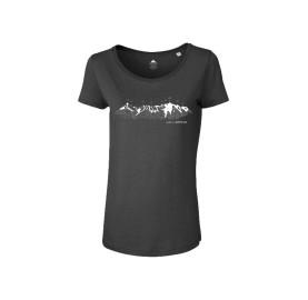 MASHERBRUM T-Shirt Femme MASSIF DU MONT-BLANC