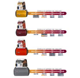 THERMOLITE® REACTOR sac à viande chaud remplace le sac polaire compacte respirant