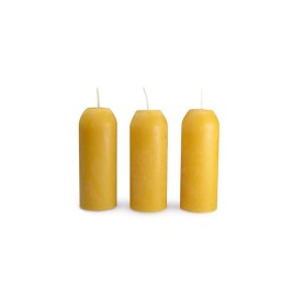 Bougie BEESWAX en cire d'abeille UCO