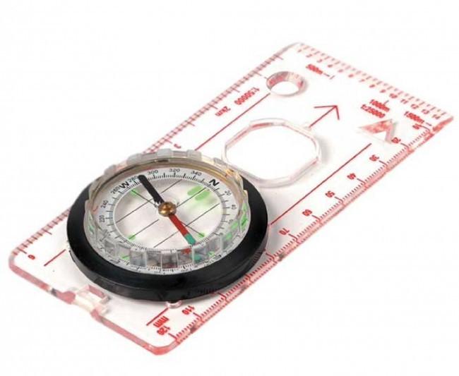 Boussole Deluxe Map Compass HIGHLANDER