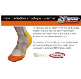 SKI LIGHT S3LM LORPEN chaussettes ski fine et chaude