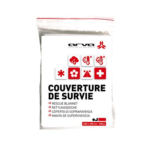 COUVERTURE DE SURVIE ARGENT 190 GR ARVA