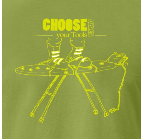 ABK Tshirt grimpe coton IRON TEE