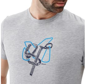 MILLET Tshirt escalade coton bio GRANITOLA TS SS