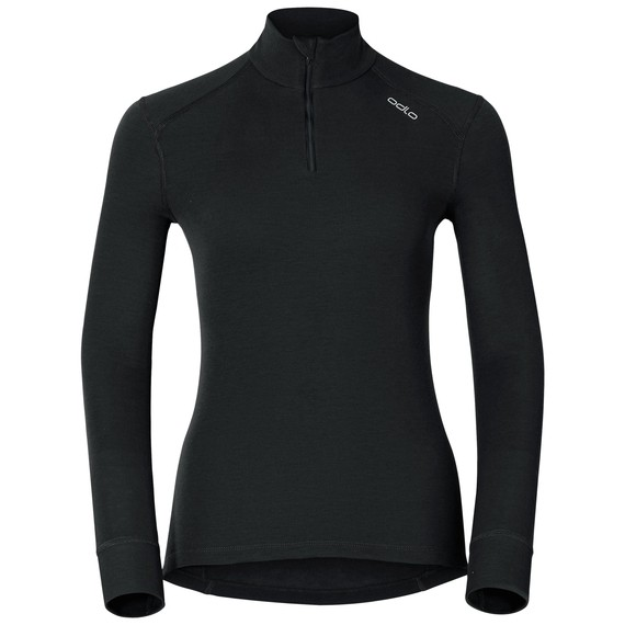 T-Shirt Femme manches longues ACTIVE WARM WOMAN Originals ODLO COL ZIP