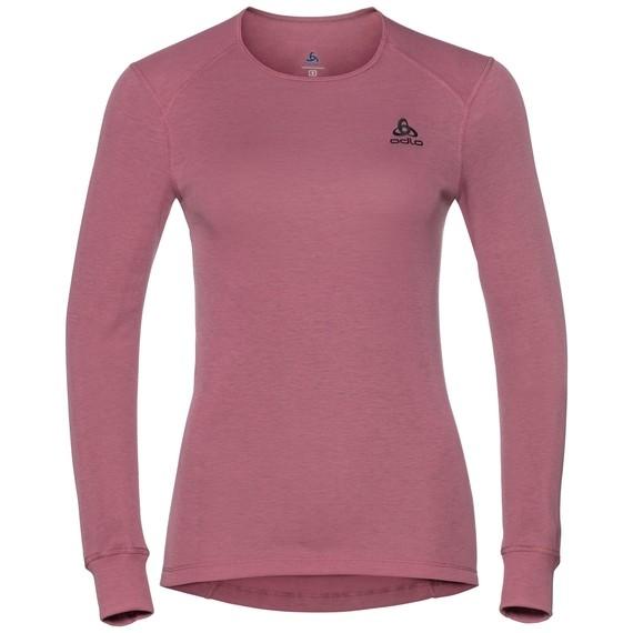 T-Shirt Femme manches longues ACTIVE WARM WOMAN Originals ODLO Ras de cou