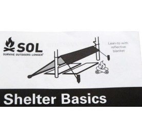 KIT ABRI D'URGENCE / EMERGENCY SHELTER KIT SOL