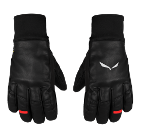 FULL LEATHER TW GLOVE SALEWA - Gants Cuir et laine