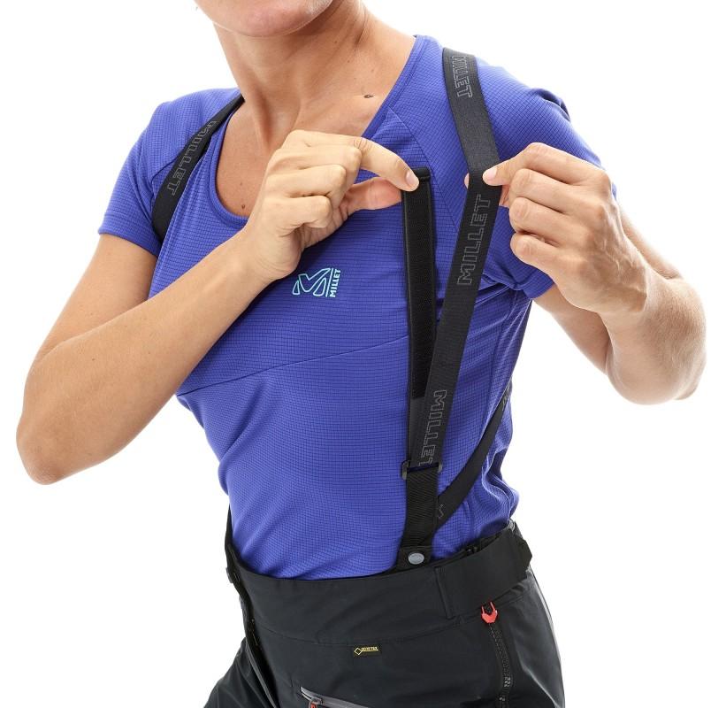 MILLET Pantalon Gore-TEx femme alpinisme ski rando LD KAMET 2 GTX PANT   bretelles amovibles et ajustables