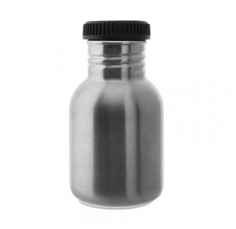 Gourde Inox 350 ml LAKEN bouchon noir