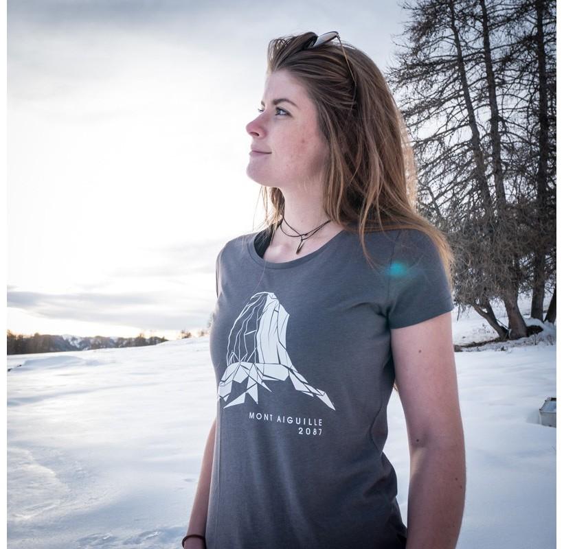 T-Shirt MONT AIGUILLE Femme MASHERBRUM