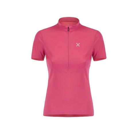 SENSI ZIP T-SHIRT W MONTURA T-Shirt Femme Lycra