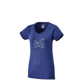 MILLET Tee-shirt alpinisme femme M LOGO TS SS W