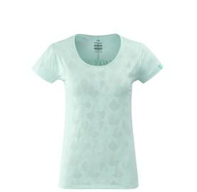 EIDER Tee-shirt femme rando FLEX JACQUARD TEE W discret jacquard imprimé camouflage
