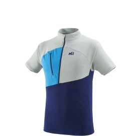 MILLET tee-shirt rando polartec ELEVATION ZIP SS