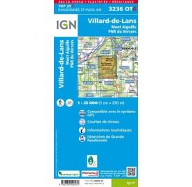 3236OTR VILLARD PNR VERCORS IGN TOP 25