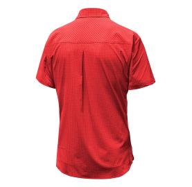 PUEZ MINI CHECK DRY M S/S SALEWA chemise manche courte rando respirante