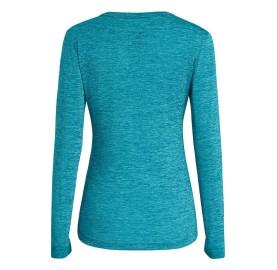SALEWA Tee-shirt manche longue PUEZ MELANGE DRY W L/S TEE frais light