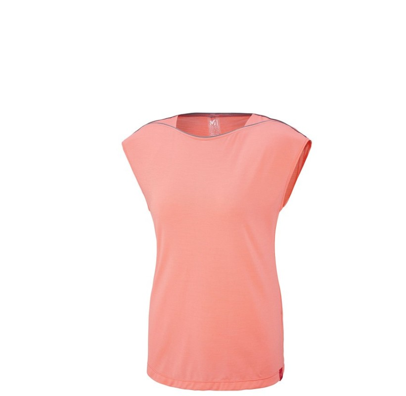 MILLET Tee-shirt femme Merino LD CLOUD PEAK WOOL TS SS