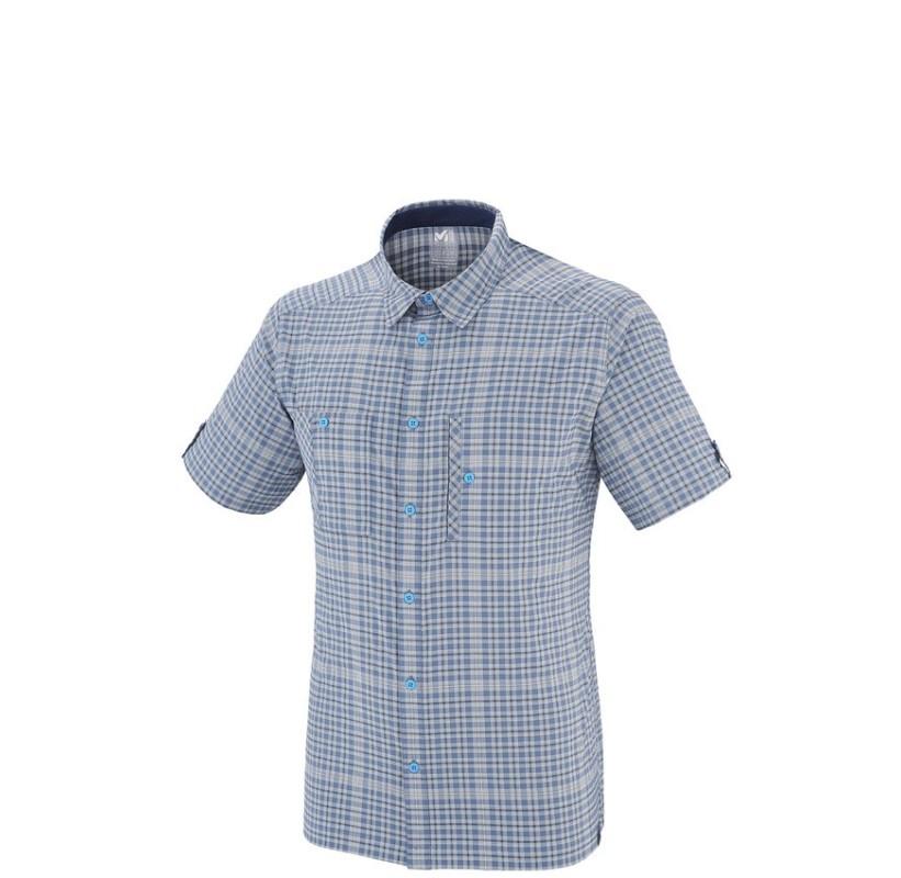 MILLET chemisette CASTLE PEAK STRETCH SHIRT SS ultra souple respirante