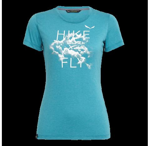 SALEWA Tee-shirt femme REDBULL DRI-REL W S/S TEE