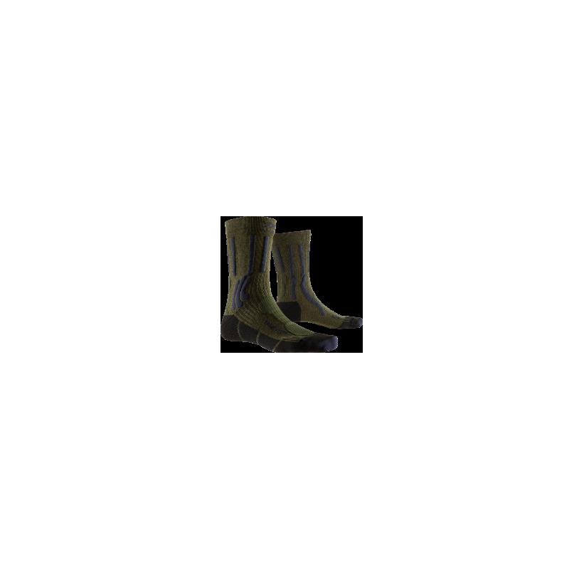 X-SOCKS Chaussette randonnée avec coton et synthétique