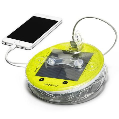 Lanterne solaire LUCI PRO - Lampe + chargeur de téléphone