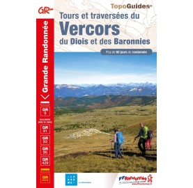 Tours et traversées du Vercors, du Diois et des Baronnies - IGN
