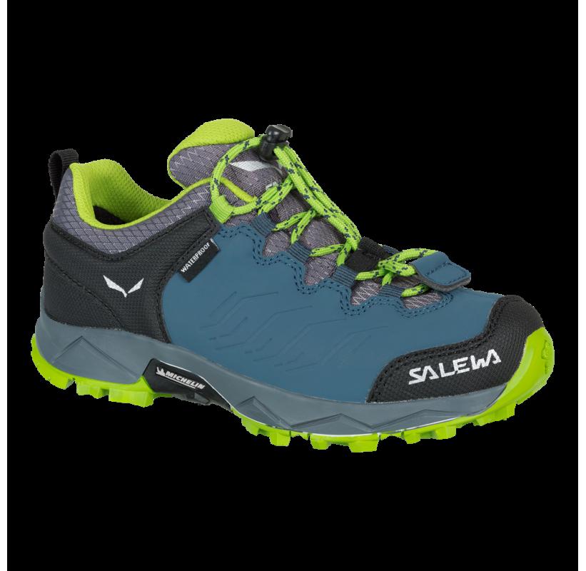 SALEWA Chaussure randonnée enfant JUNIOR MOUTAIN TRAINER WP confort maintien imperméable respirante