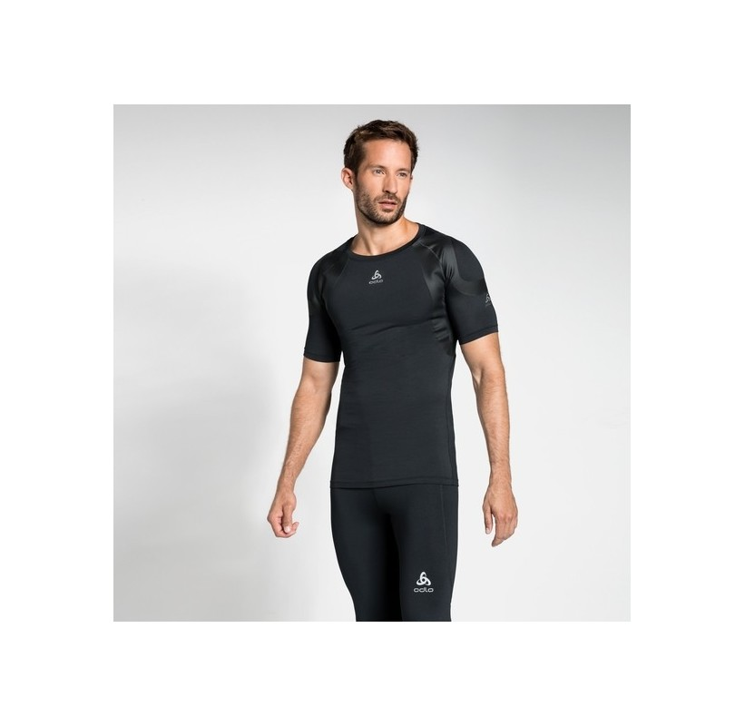 ODLO T-Shirt technique ACTIVE SPINE LIGHT respirant maintien moins de la fatigue musculaire