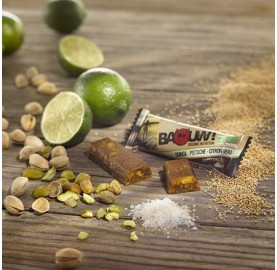 BAOUW ! Barres Endurance Quinoa - Pistache - Citron Vert