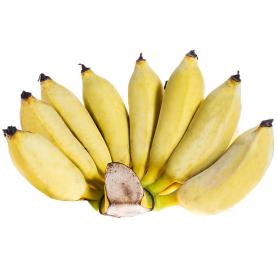 Banane séchée naturelle au soleil de Thaïlande