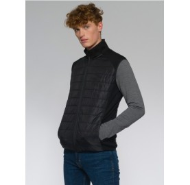 REWOOLUTION Gilet laine sans manche laine RIGEL homme chaud respirant confort