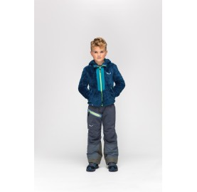 SALEWA Pantalon Enfant ski Antelao Powertex-TirolWool Celliant chaud souple confort