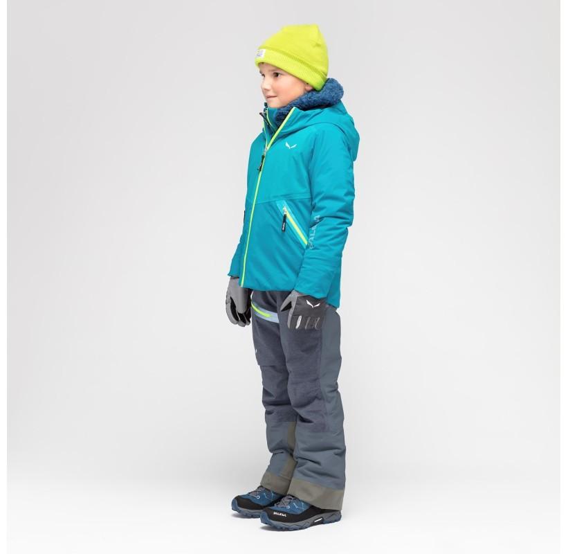 SALEWA Veste Enfant hiver Antelao Powertex-TirolWool® Celliant®