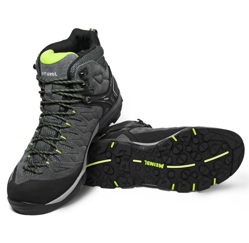 Chaussure mid TERENO MID GTX MEINDL  Semelle souple et amortie sur toute la longueur, stable, dynamique et accrocheuse