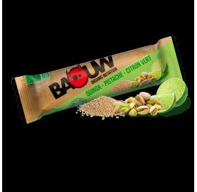 barre bio nutritionnelle salée Quinoa - Pistache - Citron Vert BAOUW ! made in France