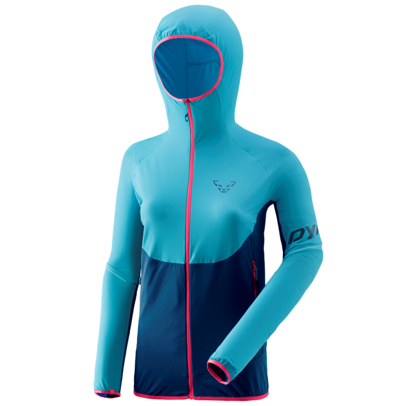 DYNAFIT Veste femme Softshell TRANSALPER DYNASTRETCH W compressible ultra light ultra respirante