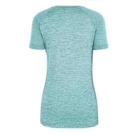 PUEZ MEL DRY W V-NECK S/S TEE SALEWA Tee-shirt femme col V