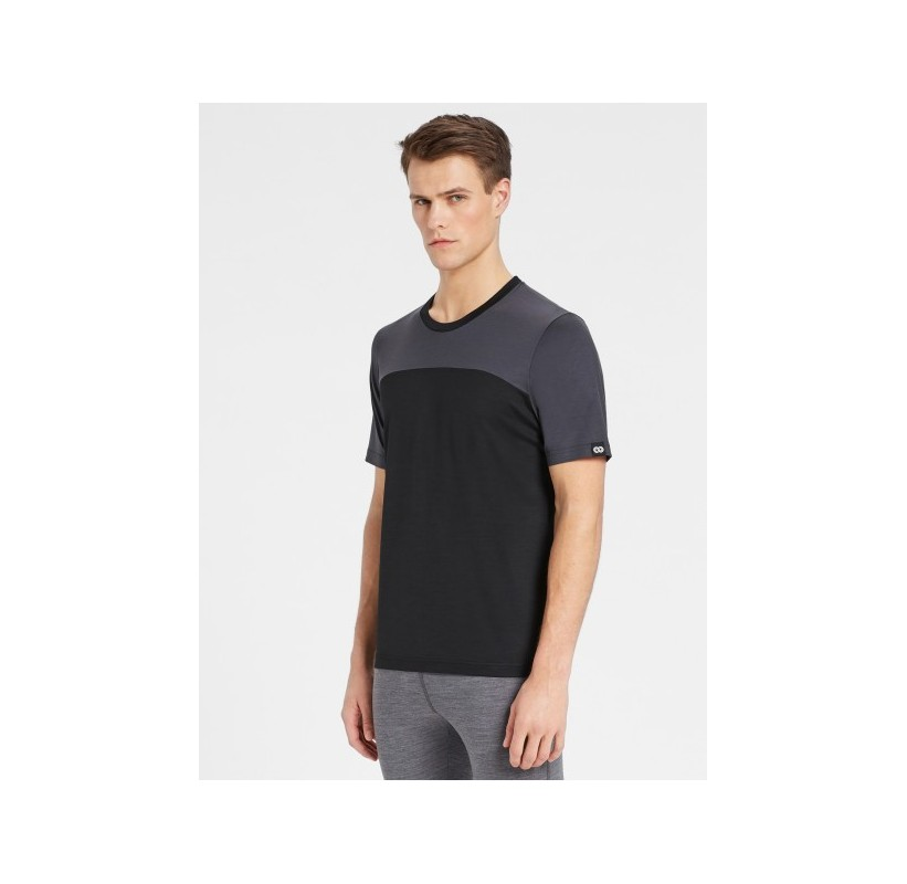 HOBART TS SS REWOOLUTION T-shirt en Merino label ZQ - douceur confort souple