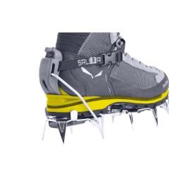 WS RAPACE GTX SALEWA Chaussure Alpinisme Femme utilisation avec crampons