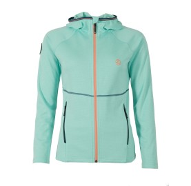 Polaire douce light voyage rando BALABAC HOODY W TERNUA Polaire femme anti odeur portection solaire made in europe