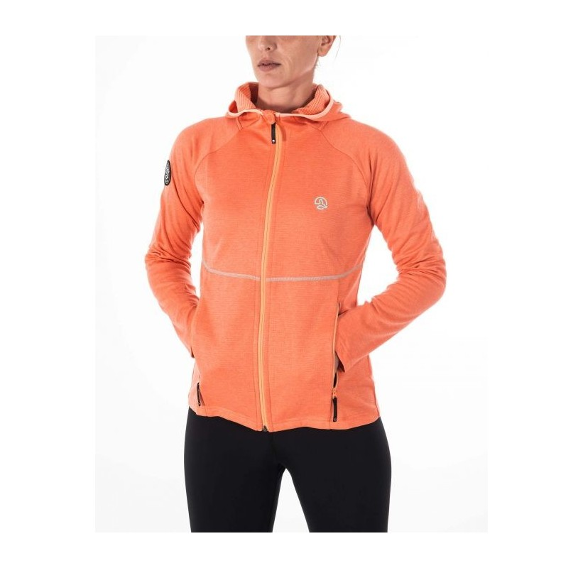 BALABAC HOODY W TERNUA Polaire femme anti odeur protection solaire