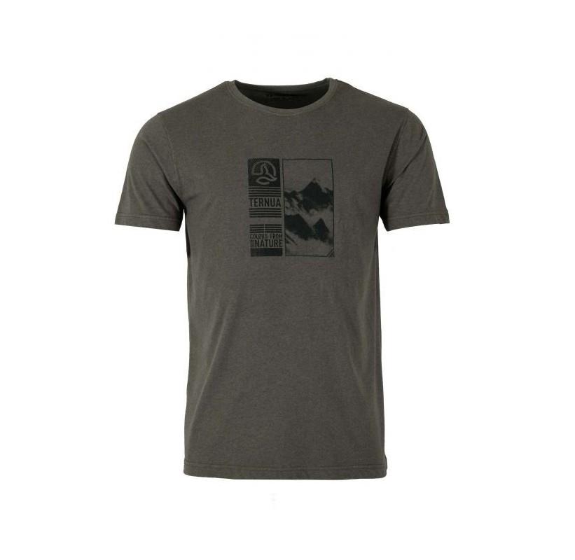 SAMAR M TERNUA Tee-shirt coton et synthétique recyclé écologique